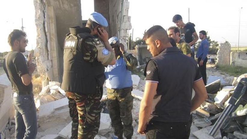 Syrien-Konflikt: Angriff auf Tremseh galt Assad-Gegnern