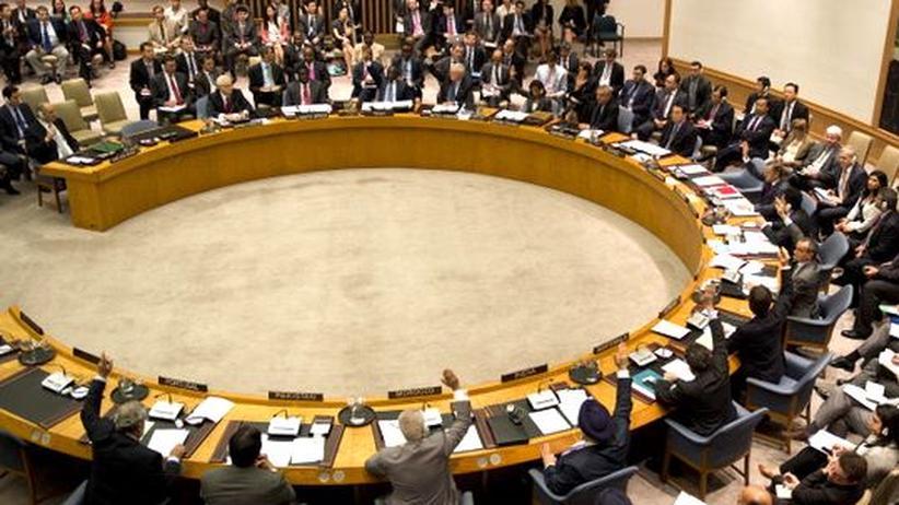 UN-Sicherheitsrat: Syrien-Resolution scheitert erneut an Putin und Hu