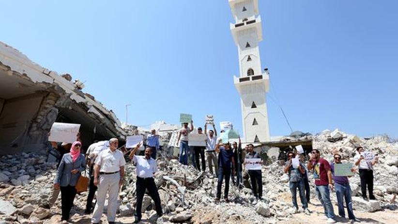 Libyen: Radikalislamisten zerstören Moschee in Tripolis
