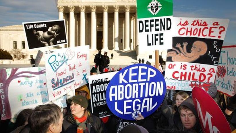 US-Wahlkampf: Warum die Abtreibung Amerika spaltet