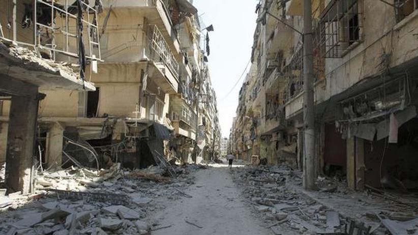 Syrien: Rebellen planen Gegenoffensive in Aleppo