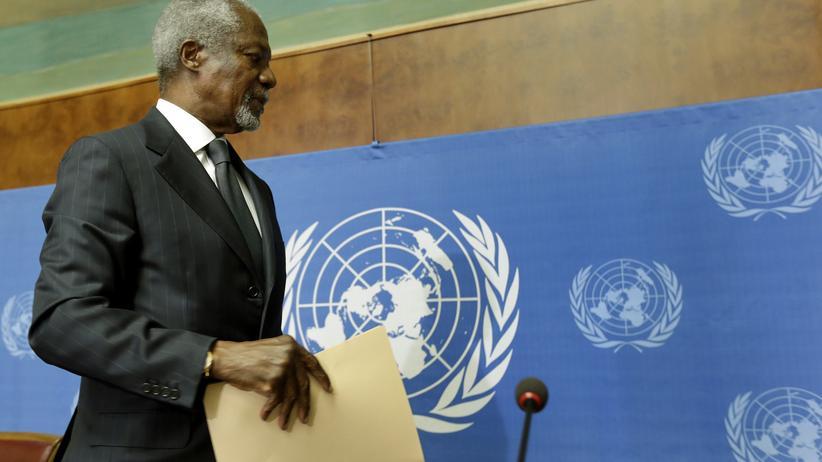 Syrien-Krieg: Annans Syrien-Mission war ohne Chancen