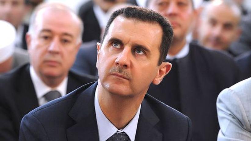 Bürgerkrieg: Syriens Vize deutet Verhandlungen über Assad-Rücktritt an