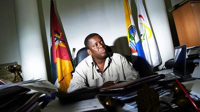 Korruption: Daviz Simango, Bürgermeister der Hafenstadt Beira (Archiv)