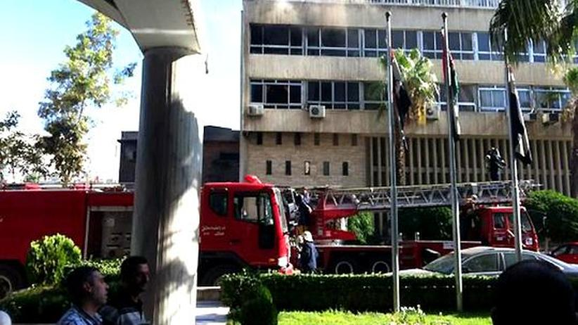 Syrien: Schwere Explosion nahe einem Hotel in Damaskus