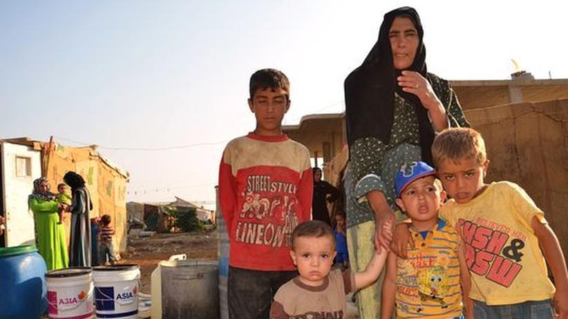 Bürgerkrieg: Syrer fliehen in überforderte Nachbarländer