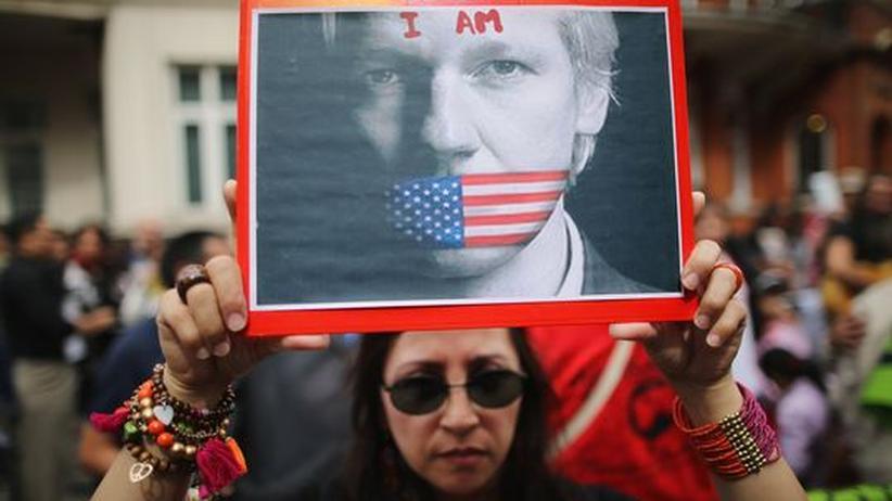 Wikileaks-Gründer: Ecuador ruft im Assange-Streit Südamerika zur Hilfe