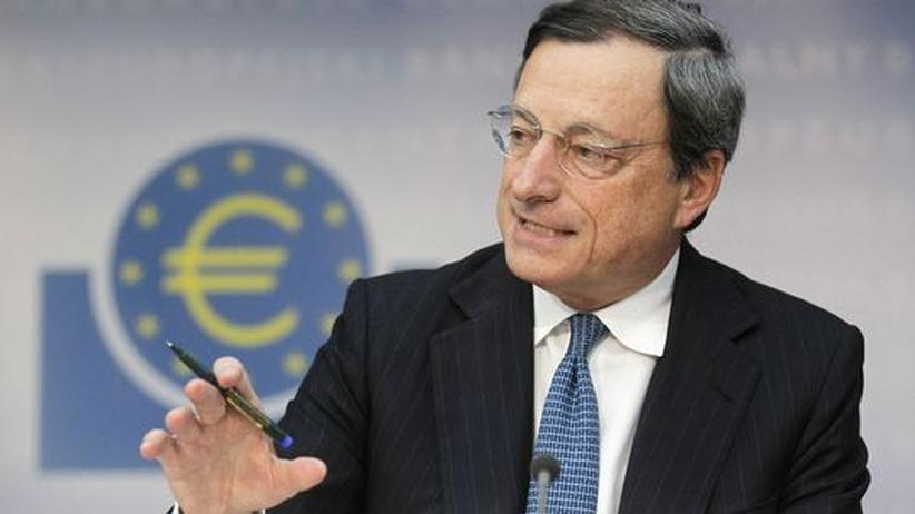 Europäische Zentralbank: Draghi widerspricht seinen deutschen Kritikern