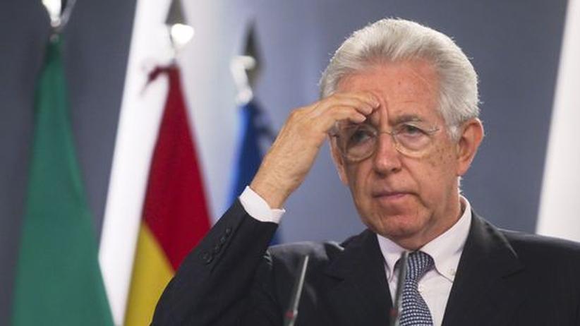 Euro-Krise: Monti weist deutsche Vorwürfe zurück