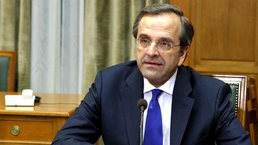 Griechenland: Samaras verspricht Deutschland Rückzahlung aller Kredite