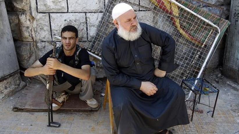 Propagandavorwürfe: Ein Kämpfer der Rebellenarmee FSA (Freie Syrische Armee)