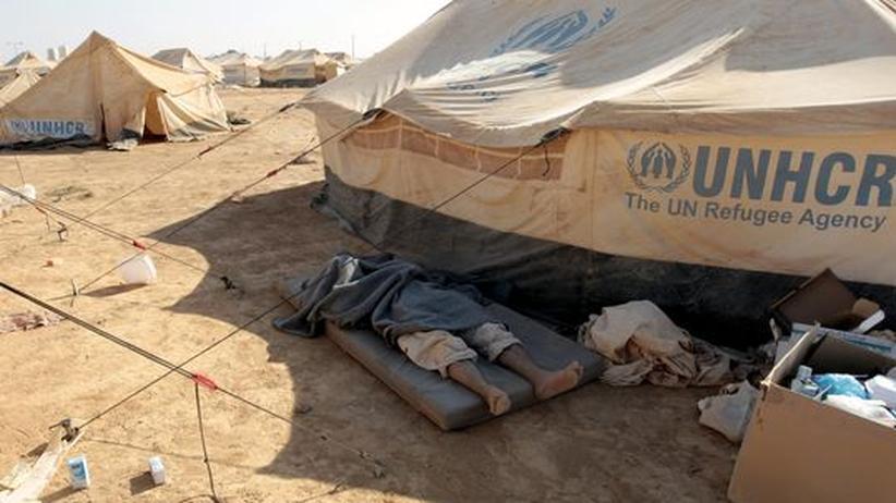 Bürgerkrieg: Erste syrische Flüchtlinge erreichen Griechenland