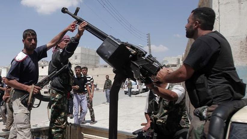 Syrien: Aufständische melden Abschuss eines Kampfjets
