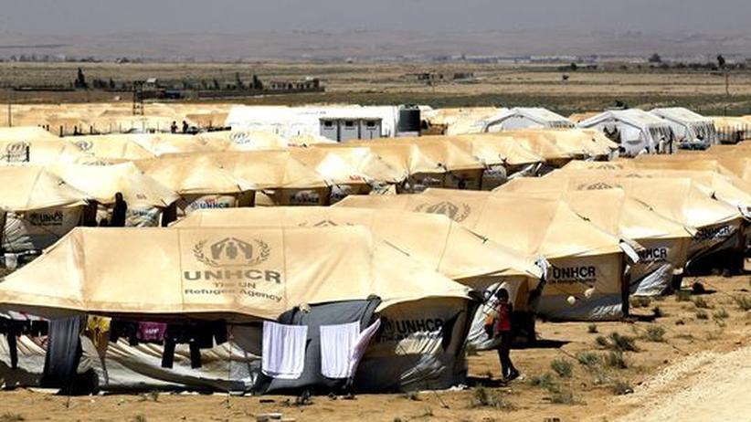 Grenzkonflikt: Syrische Armee feuert nach Jordanien