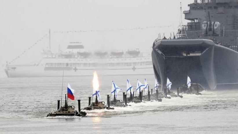 Bürgerkrieg in Syrien: Russische Landungsboote auf dem Weg nach Syrien
