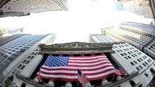 Börsengebäude in der New Yorker Wall Street