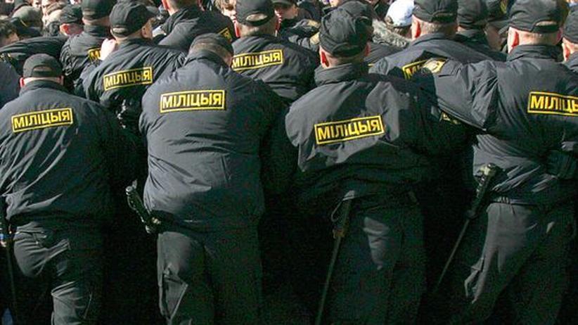 Milizen-Ausbildung: Deutsche Polizei half weißrussischem Diktator Lukaschenko