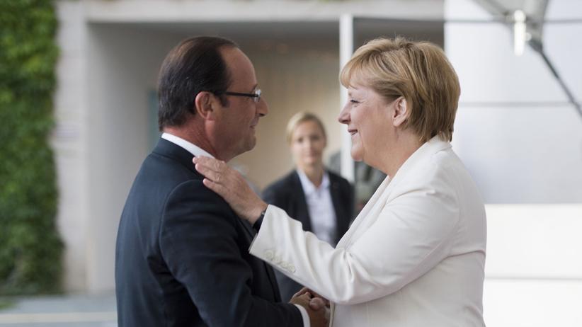 Euro-Krise: Die Franzosen vertrauen Merkel