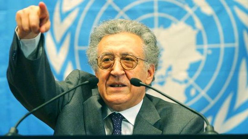 Syrien-Mission: Brahimi ist zur List verdammt