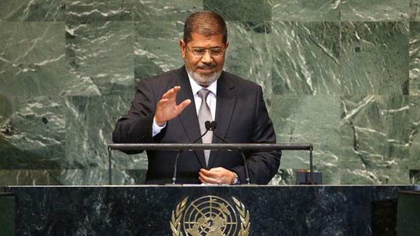 Ägyptischer Präsident: Mursi strebt nach größerer Rolle in Nahost
