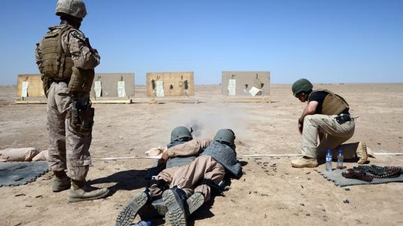 Afghanistan: USA setzen Ausbildung afghanischer Polizisten vorläufig aus