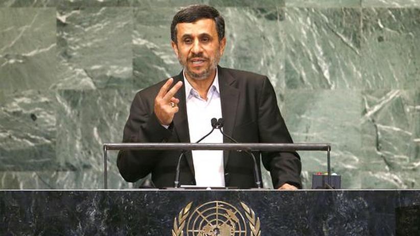 UN-Rede: Ahmadinedschad fordert eine neue Weltordnung