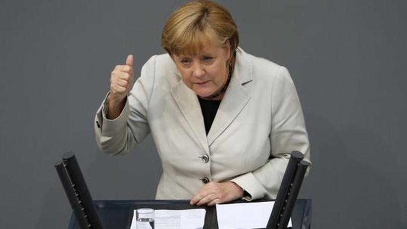 Bundestagsdebatte: Merkel fühlt sich durch ESM-Urteil bestärkt