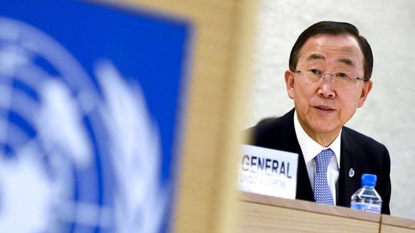Bürgerkrieg: Ban Ki Moon will neuen Friedensplan für Syrien vorlegen