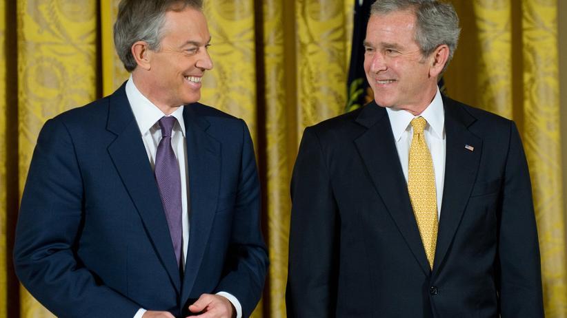 Irak-Krieg: Bush und Blair gehören vor Gericht
