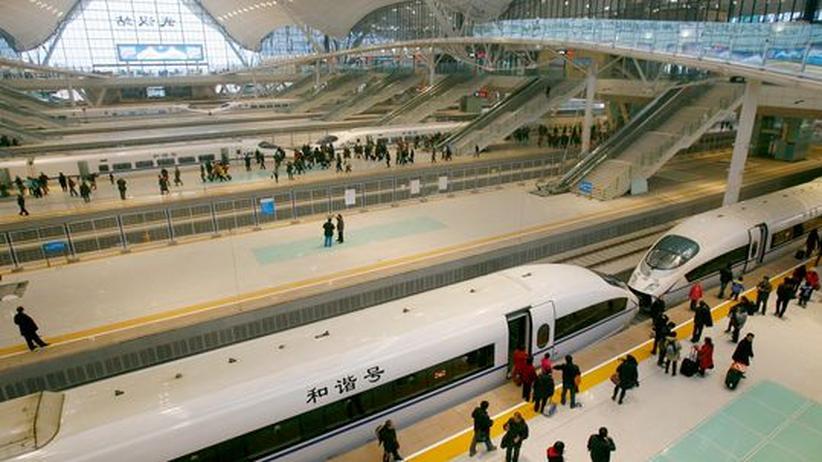 Netzausbau: China will mit Milliarden-Bahnprojekten seine Wirtschaft ankurbeln