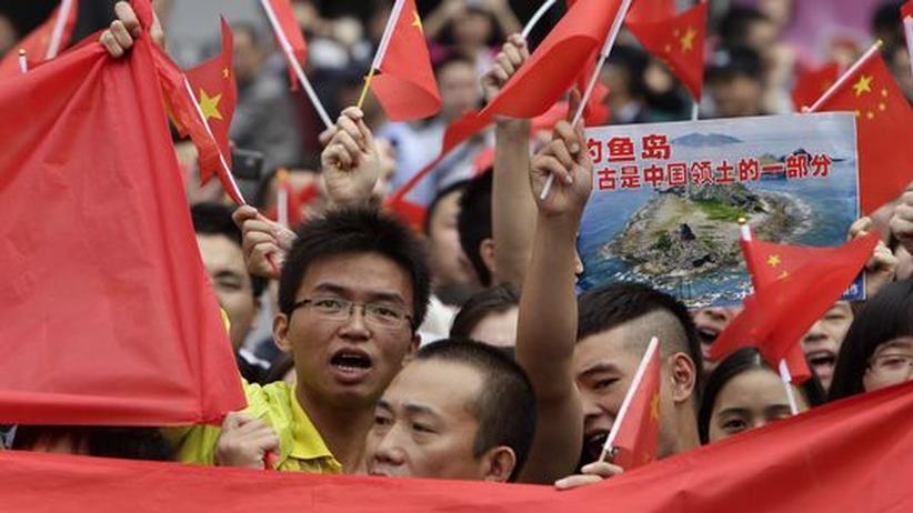 Inselstreit: Anti-japanische Proteste in China