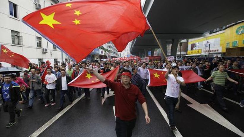 Insel-Konflikt: Die feindseligen Demos gegen Japan nützen China