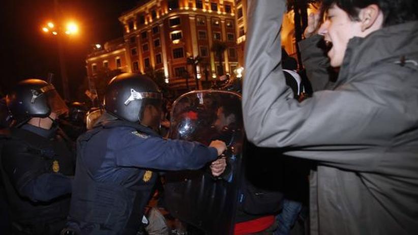 Sparpolitik: Proteste in Spanien und Portugal weiten sich aus