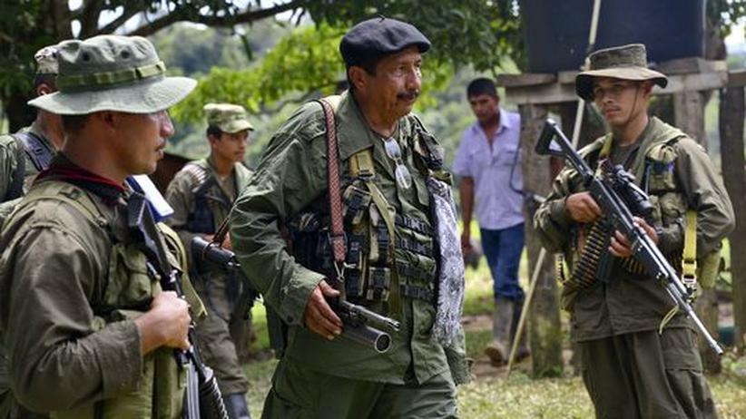 Friedensgespräche: Farc-Rebellen bitten Kolumbien um Waffenruhe