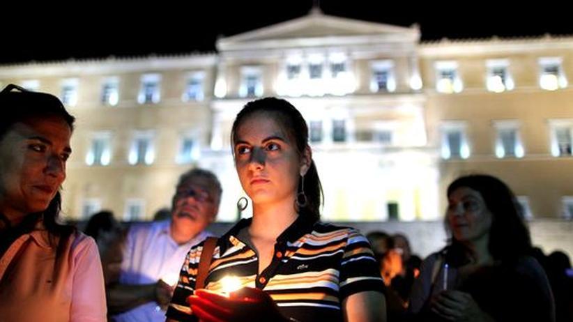 Staatsverschuldung: Griechische Regierung streitet über Beamten-Entlassungen