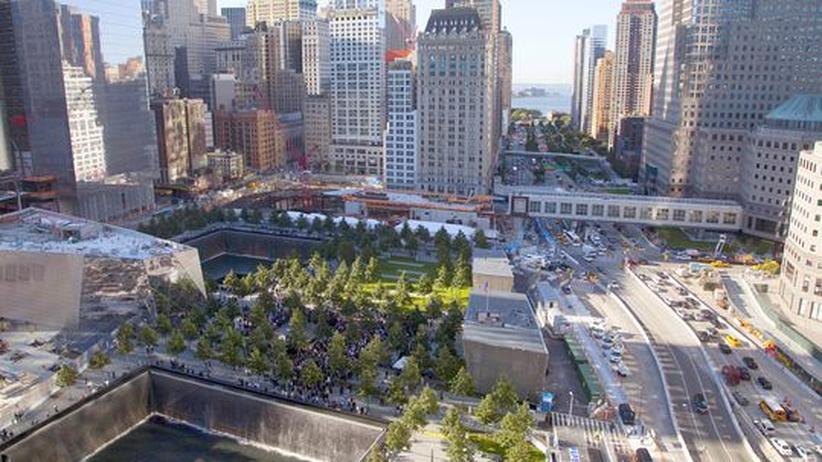 11. September 2001: New York schweigt zum Gedenken