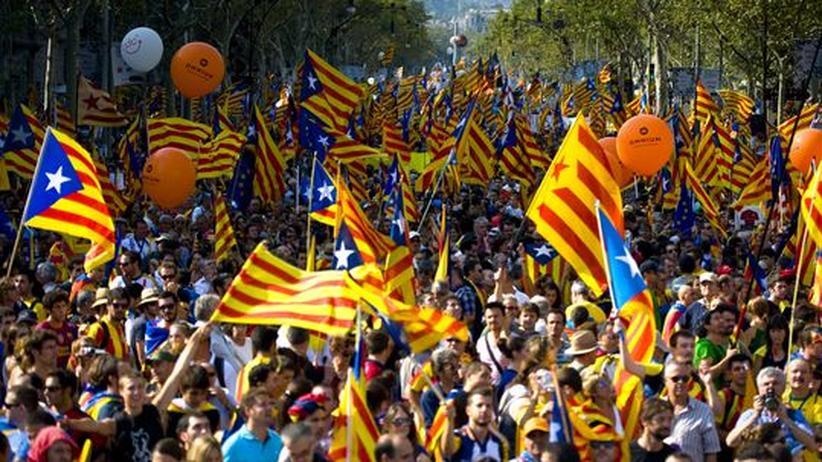 Euro-Krise: Millionen Katalanen wollen nicht mehr für Spanien zahlen