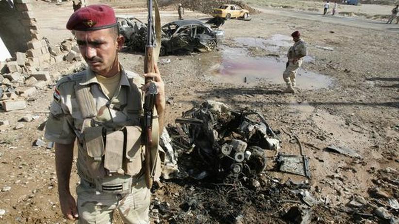 Attentatsserie: Bombenexplosionen erschüttern irakische Städte