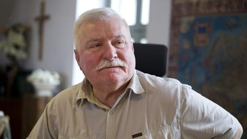 """Lech Wałęsa: """"Die Deutschen sollten mutiger sein"""""""