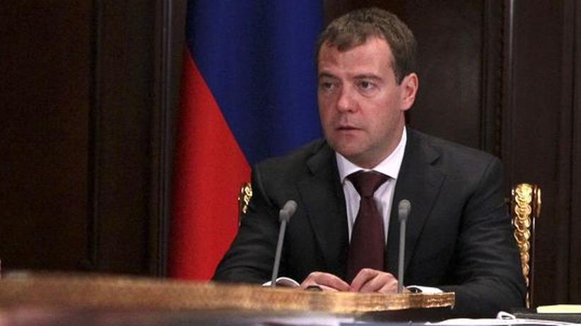 Russland: Medwedew kritisiert Hafturteil für Pussy Riot