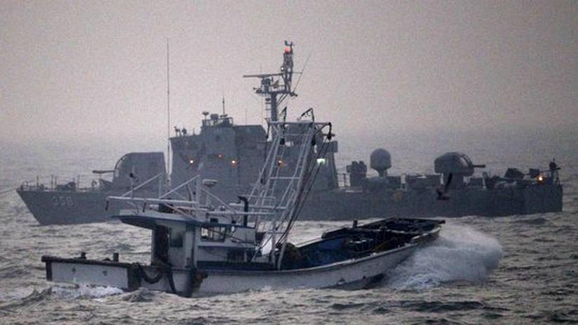 Korea-Konflikt: Südkorea drängt nordkoreanische Fischerflotte mit Warnschüssen ab
