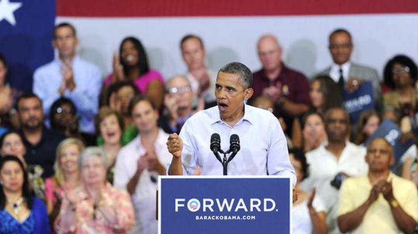 "US-Wahlkampf: Obama spottet über Republikaner-Programm aus ""vergangenem Jahrhundert"""