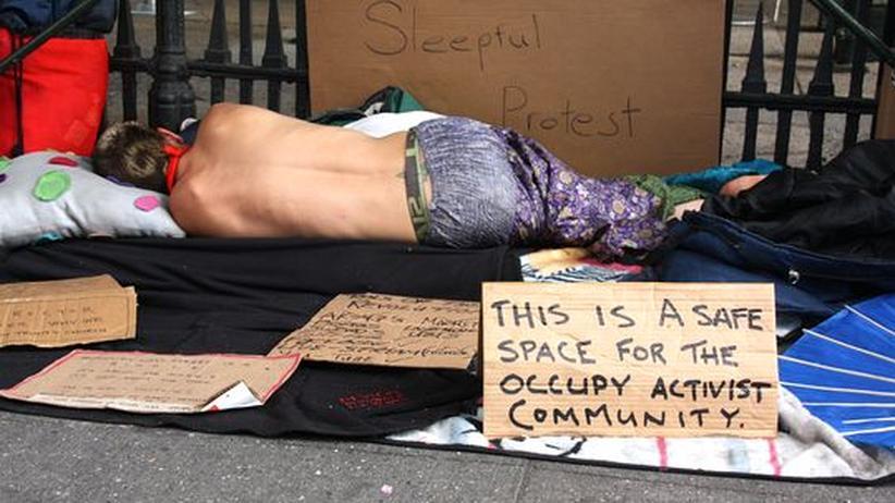 USA: Occupy bäumt sich ein letztes Mal auf