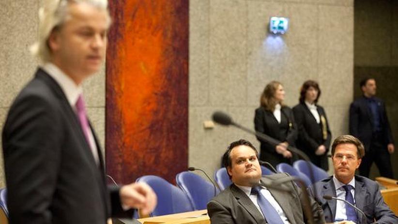 Niederlande: Holländer veranstalten Euro-Wahlkampf