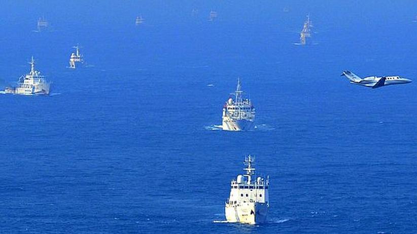 Inselstreit: China zeigt Japan die Muskeln
