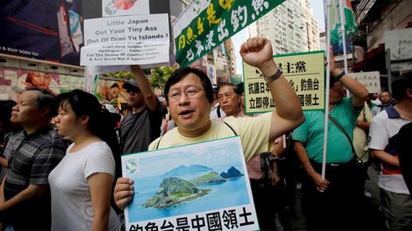 Konflikt mit Japan: China versucht Proteste im Inselstreit einzudämmen