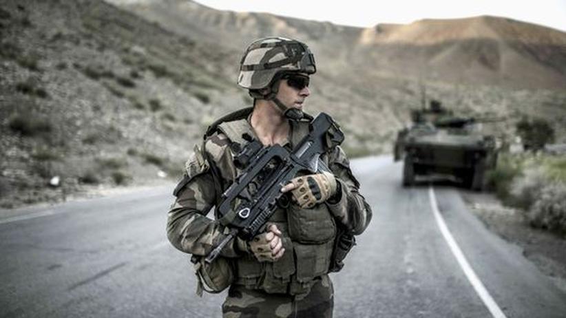 Problem Innentäter: Ein französischer Nato-Soldat in Afghanistan