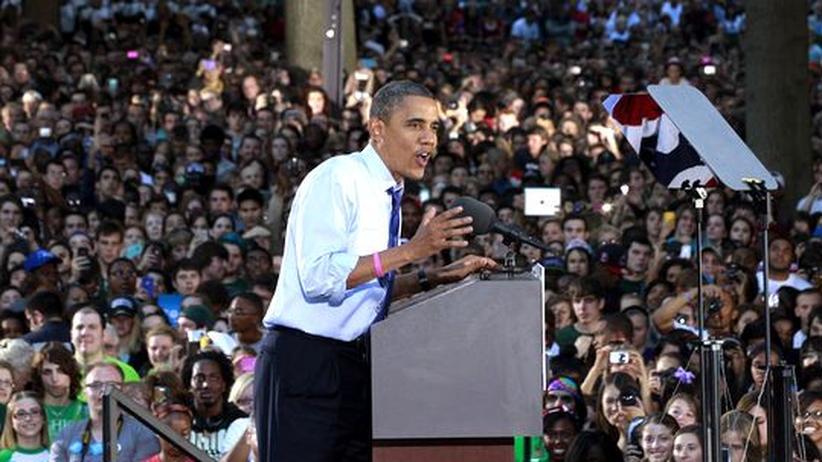 """TV-Debatte: Obama spottet über Romneys """"Ordner voller Frauen"""""""