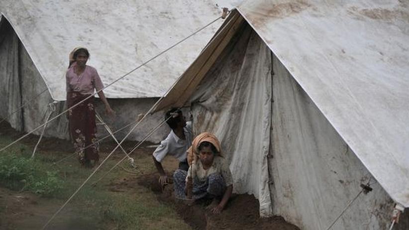 Ethnische Unruhen: Tausende in Birma fliehen vor Gewalt
