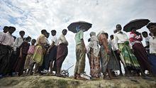 Flüchtlinge in Birma